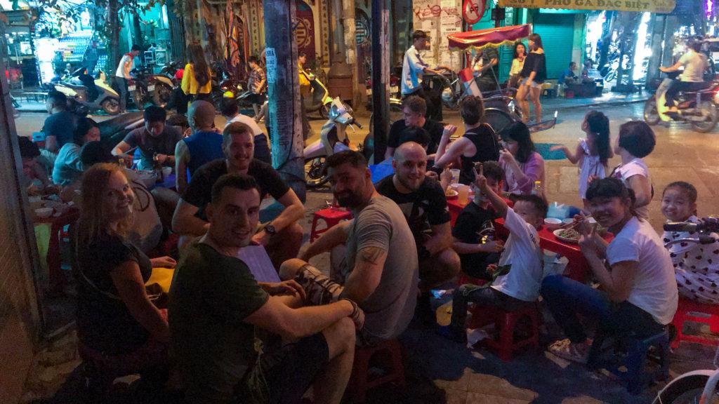 prvni jidlo ve vietnamu